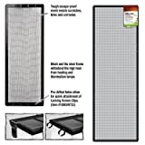 ENERGY SAVERS UNLIMITED,INC. - SCREEN COVER METAL BLK 48X13