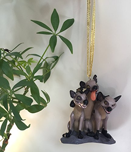 Disney Lion King Hyena Banzai Ed & Shenzi Christmas Ornament