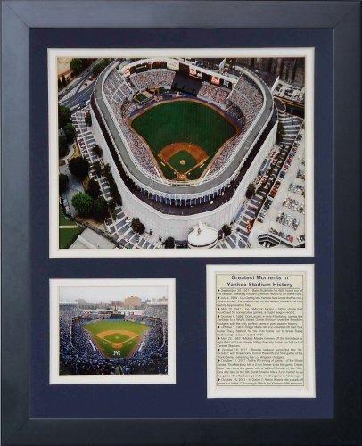 Legenden Sterben Nie 1970 & 039;s Yankee Stadion gerahmtes Foto Collage, 11 x 35,6 cm von Legends Never Die