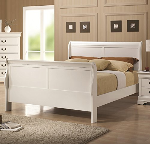 5 Pc Elizabeth Twin Bedroom Collection Bed, Dresser, Chest, Mirror, Nightstand by R&R (Image #2)