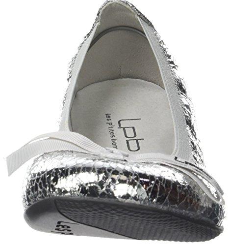 Flats F Les Silver Toe P'tites Closed Women's Ella Bombes Multicoloreargent Ballet 77AFxUq8
