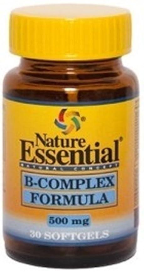 B-complex formula 500 mg. 30 perlas con vitaminas C, E, B