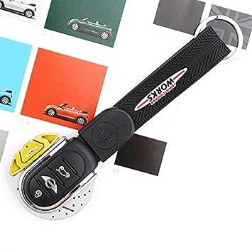 YaaGoo for Mini Cooper F54 F55 F56 F57 F60 Car Styling Accessories Keychain Key Cover Case Blue