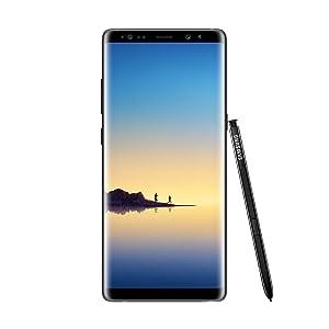 'Samsung Galaxy Note 8 - Smartphone desbloqueado por 6.3, 4G, Wi-Fi, Bluetooth, Exynos 8895 Octa Core 2.3 GHz + 1.7 GHz, memoria interna de 64 GB, 6 GB de RAM, doble cámara 12, Android SIM)