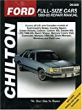 Ford Full-Size Cars, 1968-88, Chilton Automotive Editorial Staff, 0801986656