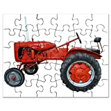 CafePress - Vintage Allis Chalmers Isolated With Clippi - Jigsaw Puzzle, 30 pcs.