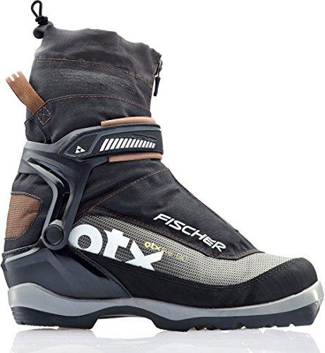 FISCHER Men's Offtrack 5 BC Ski Boots Black/Brown 43 Fischer Ski Equipment