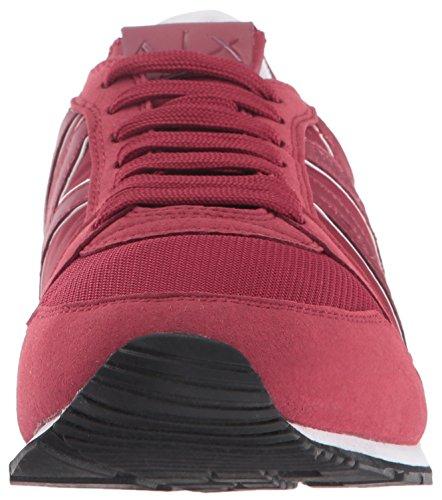 Retro A Running Fashion X Sneaker Sneaker Armani Men Rhubarb Exchange 7aaU6vq