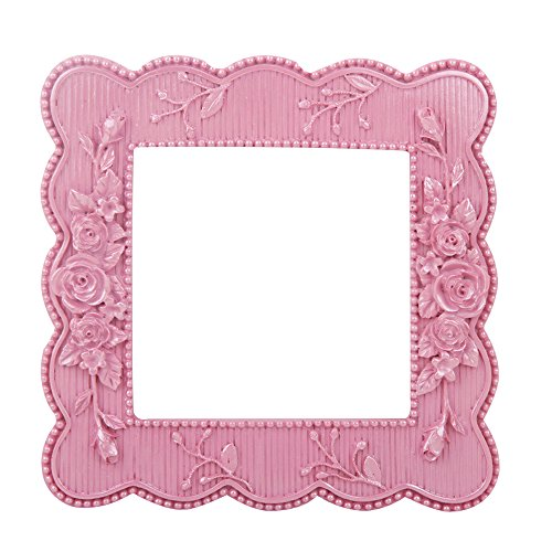 Pink Carved Removable Light Switch Wall Stickers Decals Resin Baby Nursery Living Room Bedroom Nursery