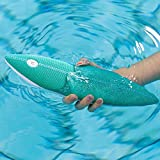 EMIE Solo Surf Bluetooth Floating Shower Speaker with IPX7 Fully Waterproof, Portable Hanging Hook, 10W Bass Sound, Stereo Pairing, Perfect Creative Speaker for Bathroom, Pool, Beach, Boats Home