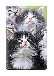 Ipad Mini/mini 2 Case Cover - Slim Fit Tpu Protector Shock Absorbent Case (cat)