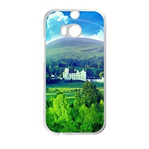 fresh forest blue sky beauty scenery personalized creative custom protective phone case for HTC M8