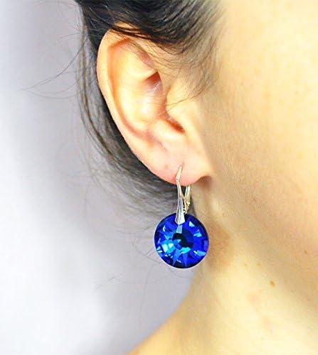 esqueleto hierro Competir  Crystals & Stones * Bermuda Blue * * * Sun * * Juego de collar y pendientes  para mujer – Plata 925 y cristales Swarovski®: Amazon.es: Joyería
