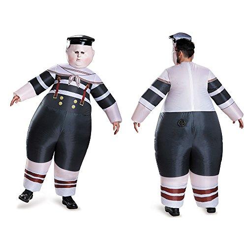 Disney Men's Alice Dum Tweedle Dee Inflatable Costume, Multi, One (Mens Tweedle Dee Costume)