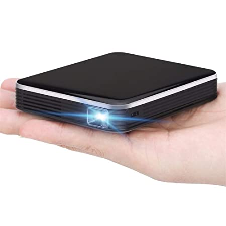Aingol Mini proyector, DLP portátil Mini proyector móvil con ...