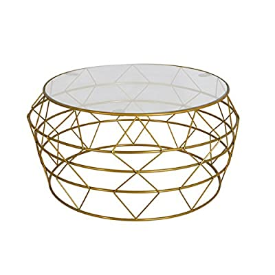 Git Mit Home Coffee Tables, Glass - Hand crafted Easy to use Manufactured in India - living-room-furniture, living-room, coffee-tables - 51M3klCQy7L. SS400  -