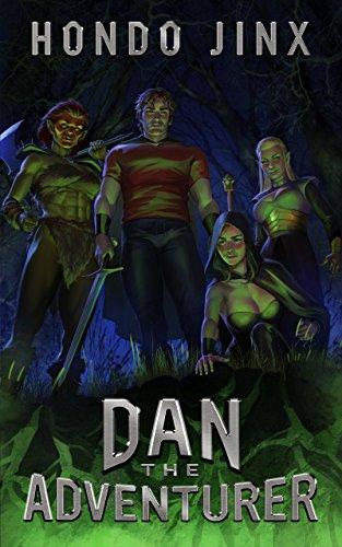 Dan the Adventurer: A Gamelit Harem Fantasy Adventure (Gold Girls and Glory Book 2)