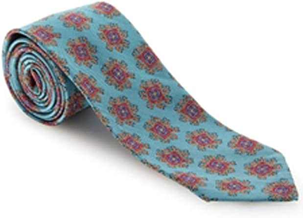 Robert Talbott Green with Medallion Estate Tie