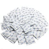 Dry & Dry [1000 Packets] 5 Gram Premium Silica Gel Packets Desiccant Dehumidifiers - Rechargeable Paper(Food Safe FDA Compliant)