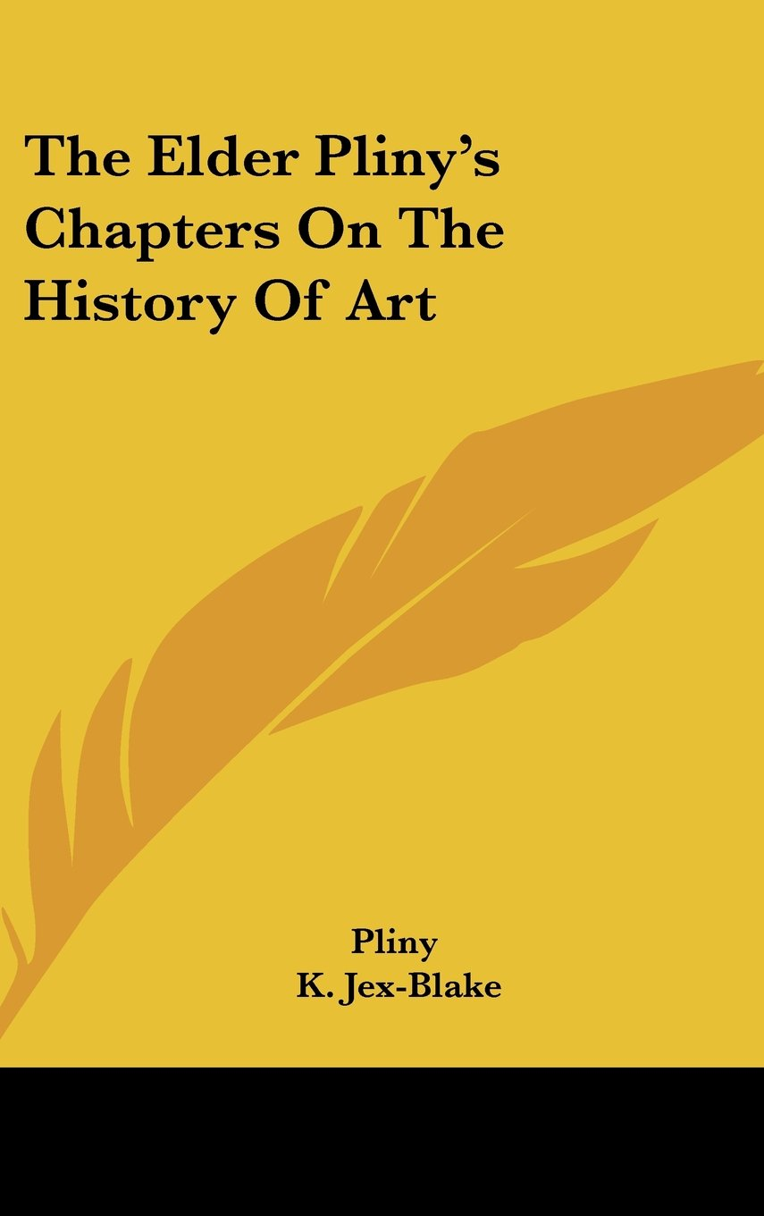 Download The Elder Pliny's Chapters on the History of Art pdf