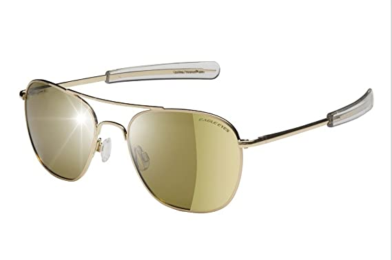 ceb845b515 Amazon.com  Eagle Eyes FREEDOM Aviator Sunglasses -UVA