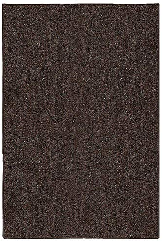 Ambiant Broadway Collection Pet Friendly Indoor Outdoor Area Rugs Chocolate - ()