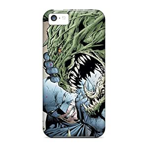 High Grade LastMemory Flexible Tpu Case For Iphone 5c - Killer Croc I4