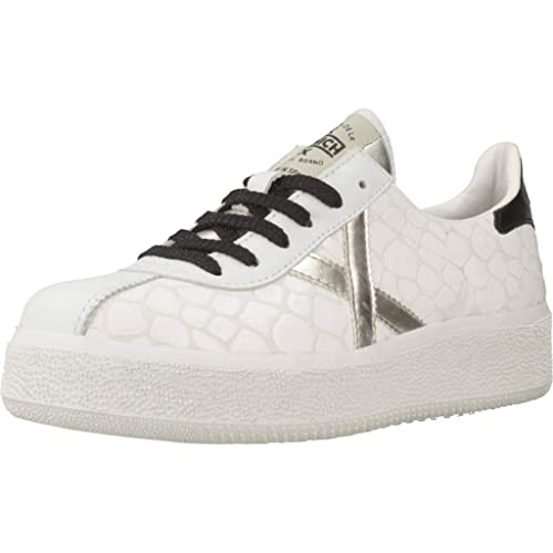 Calzado Deportivo para Mujer, Color Blanco, Marca MUNICH, Modelo Calzado Deportivo para Mujer MUNICH BARRU Sky Blanco: Amazon.es: Zapatos y complementos