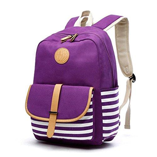 Liu Alta 43cm Donna dimensioni 13 29 Zaino Qualità Di Tela Purple Universitario IROr1