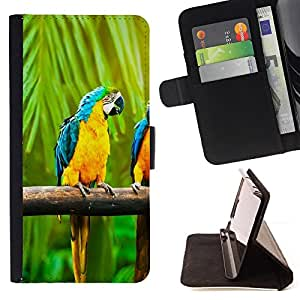 Jordan Colourful Shop - Macaw Rainbow Parrot For Apple Iphone 6 - Leather Case Absorci???¡¯???€????€??????????&fno