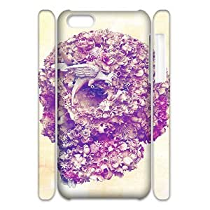 ALICASE Design Diy hard Case Skull For Iphone 4/4s [Pattern-1]