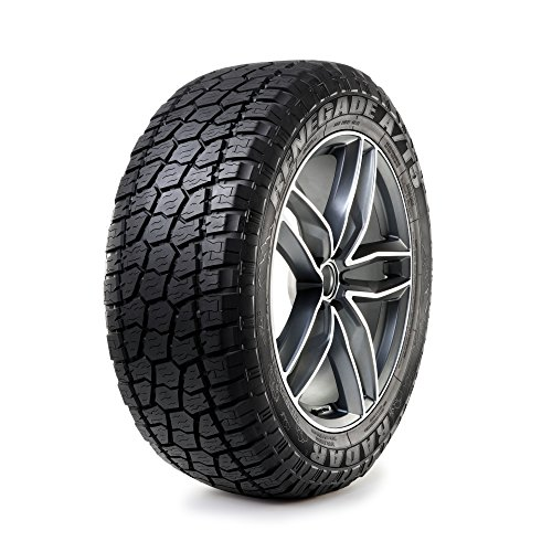Radar Tires Renegade A/T5 All-Terrain Radial Tire - 275/60R20 119H (All Terrain Tires 275 60 20)