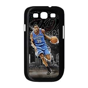 Kevin Durant funda Samsung Galaxy S3 9300 caja funda del teléfono celular del teléfono celular negro cubierta de la caja funda EEECBCAAL04956
