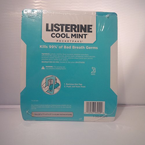 listerine strips how to use