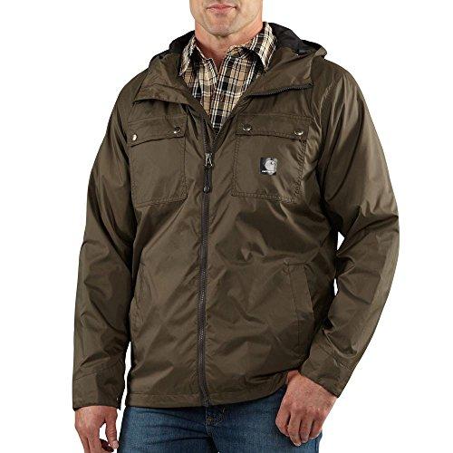 Carhartt Men's Rockford Rain Defender Jacket,Breen,X-Large from Carhartt