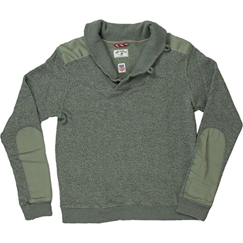 Iron and Resin Commando Sweater - Men's Military, L