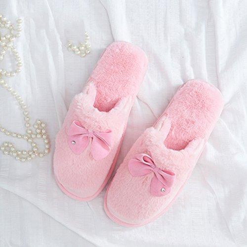 pour 39 d'hiver couleurs pour Couleur Ensemble la 38 Pantoufles en en 38 en 5 chaud 37 avec option option maison enfants femmes D taille taille pour les Pantoufles coton GYHDDP A chaussures fnSzUq55w