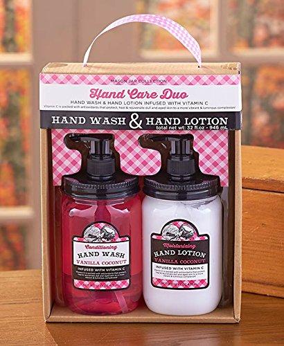 (Mason Jar Collection Hand Wash & Lotion)