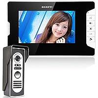 Ennio 7 Inch Video Door Phone Doorbell Intercom Kit 1-camera 1-monitor Night Vision