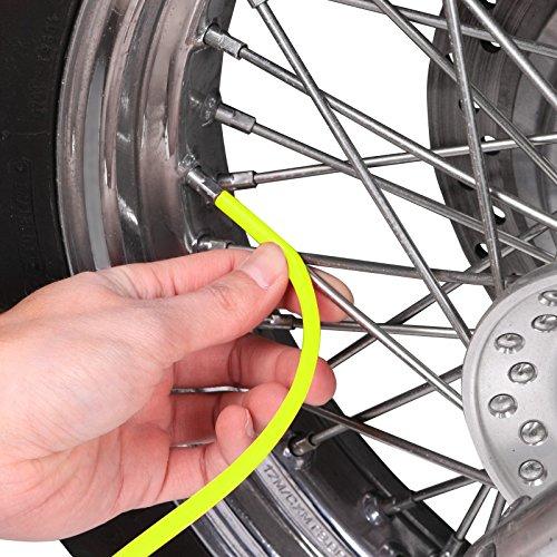 Couvre rayon Suzuki RMZ 450 Motea SPX n/éon-jaune