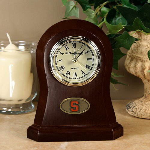 The Memory Company NCAA Syracuse University Official Desk Clock, Multicolor, One Size