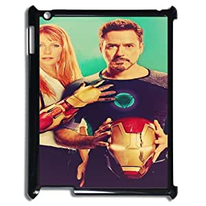 Iron Man SANDY0540571 Phone Back Case Customized Art Print Design Hard Shell Protection Ipad2,3,4