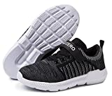 kids running - Vivay Kids Lightweight Sneakers Boys Girls Easy Walk Velcro Running Tennis Shoes