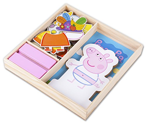 Peppa Pig Magnetic Wood Dress Up Puzzle (25 Piece) -