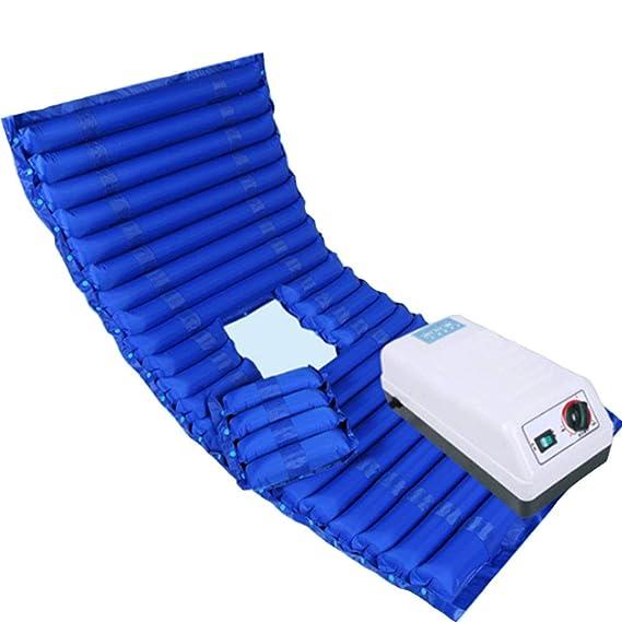 Colchón anti-decúbito de la onda de la circulación del jet colchones con la cama de aire especial portable para los ancianos,Blue,200x90cm: Amazon.es: Salud ...