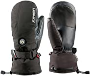 HEATED Hand Warmer Snow Mittens for Women (Medium) - Best WATERPROOF, BREATHABLE and COMFORTABLY SOFT High Qua