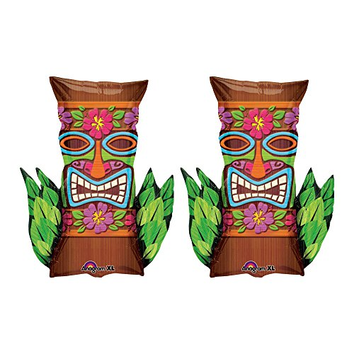 Set of 2 Tiki Mask Jumbo 30