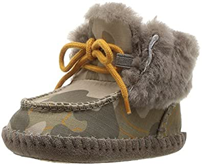 Amazon.com | UGG Kids I Sparrow Camo Boot, Slate, 4/5 M US ...