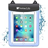 Roxie 7 10.5 inch Universal Waterproof Case Tablet Dry Bag Pouch Protective Shock Snow Dust Proof Case Cover for Amazon Fire HD 10 Fire HD 8 Fire 7 Fire 7 Kids Edition Fire Tablet with Alexa