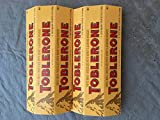 toblerone chocolates - TOBLERONE ( 2 Pack )6-3.52oz ( 12 Total Bars ) Of Each Of SWISS MILK CHOCOLATE WITH HONEY & ALMOND NOUGAT